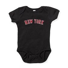 New York Versus Boston Rivals Baby Bodysuit