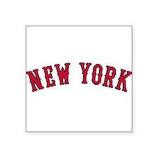 New York Versus Boston Rivals Sticker