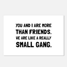 More Than Friends Postcards (Package of 8)
