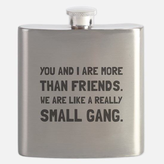 More Than Friends Flask