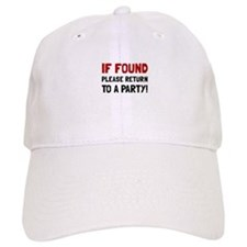 Return To Party Baseball Baseball Cap