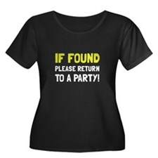 Return To Party Plus Size T-Shirt