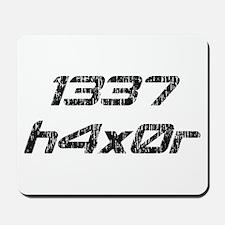Leet Haxor 1337 Computer Hacker Mousepad