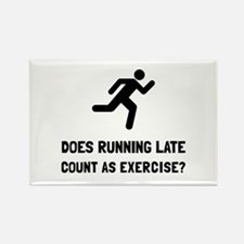 Running Late Exercise Magnets