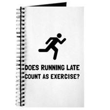 Running Late Exercise Journal