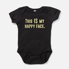 This IS my Happy Face Baby Bodysuit