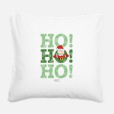 Charlie Brown: Ho Ho Ho Square Canvas Pillow