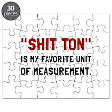 Shit Ton Measurement Puzzle