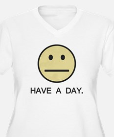 Have a Day Smiley Face Plus Size T-Shirt