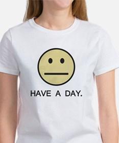Have a Day Smiley Face T-Shirt