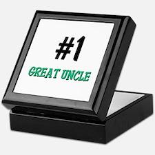 Number 1 GREAT UNCLE Keepsake Box