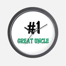 Number 1 GREAT UNCLE Wall Clock