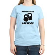 My Kettlebells Are Huge Workout T-Shirt