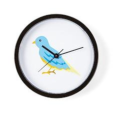 Sparrow Bird Animal Wall Clock