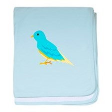 Sparrow Bird Animal baby blanket