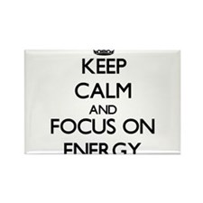 Keep Calm and focus on ENERGY Magnets