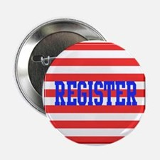 """Cool Register to vote 2.25"""" Button (10 pack)"""