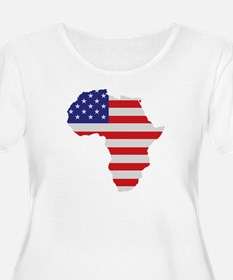 African American Africa United States Flag Plus Si
