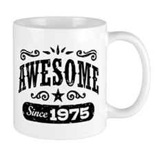 Awesome Since 1975 Small Mug