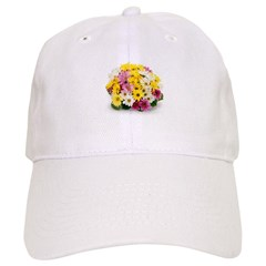 Bouquet of Flowers Baseball Cap