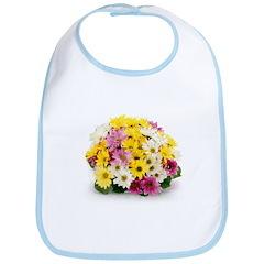 Bouquet of Flowers Bib