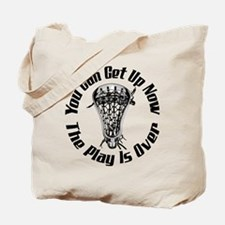 Lacrosse Plays Over Tote Bag
