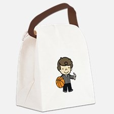 Basketball Official Canvas Lunch Bag
