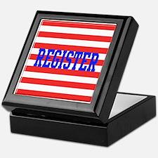 Cute Register vote Keepsake Box