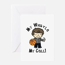My Whistle Greeting Cards