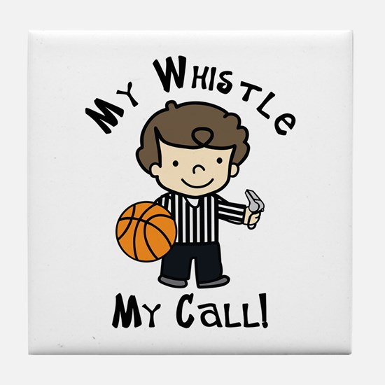 My Whistle Tile Coaster
