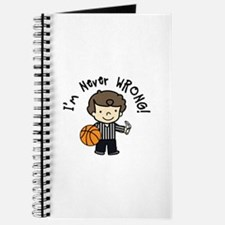 Never Wrong Journal