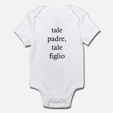 "Onesie For A Baby Boy: ""Like Father, Like Son"""