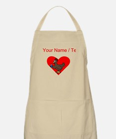 Custom Chicken Heart Apron