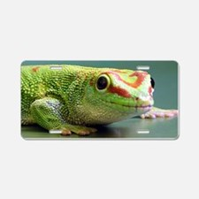 Day Gecko Aluminum License Plate