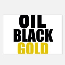 Oil Black Gold Postcards (Package of 8)