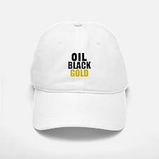 Oil Black Gold Baseball Baseball Baseball Cap