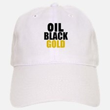 Oil Black Gold Baseball Cap