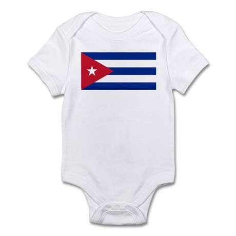Cuba Flag Infant Bodysuit