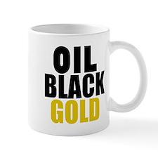 Oil Black Gold Mugs