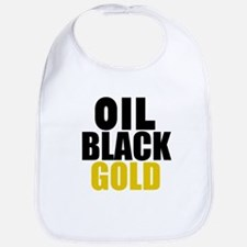 Oil Black Gold Bib