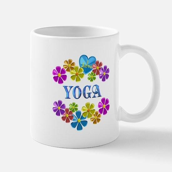 I Love Yoga Mugs