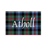 Tartan - Atholl dist. Rectangle Magnet (10 pack)