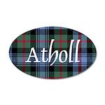 Tartan - Atholl dist. 35x21 Oval Wall Decal