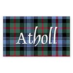 Tartan - Atholl dist. Sticker (Rectangle 10 pk)