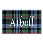 Tartan - Atholl dist. Sticker (Rectangle 50 pk)