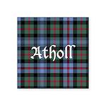 Tartan - Atholl dist. Square Sticker 3