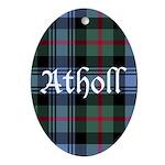 Tartan - Atholl dist. Ornament (Oval)