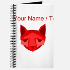 Custom Red Fox Journal