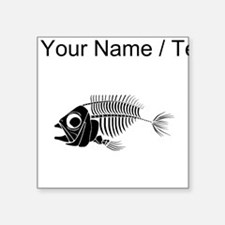 Custom Boney Fish Sticker