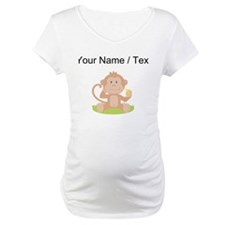 Custom Monkey Eating Banana Shirt